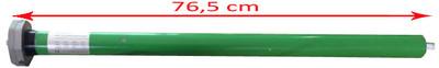 Elektrische Kassettenmarkise T123, Markise Vollkassette 4,5x3m ~ Polyester Grau/Weiss – Bild 9