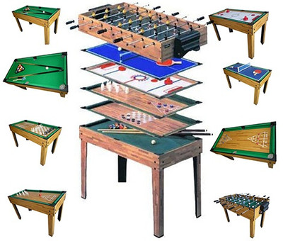 Tischfussball Billard Hockey 9in1 Multiplayer – Bild 1