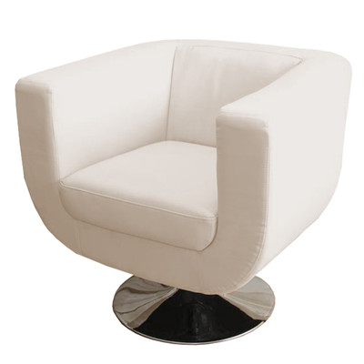 Lounge-Sessel Bar-Sessel Club-Sessel Treviso II ~ creme – Bild 1