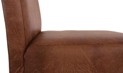 2x Barhocker Barstuhl HWC-C33 ~ Wildlederimitat, helle Beine, Textil – Bild 4