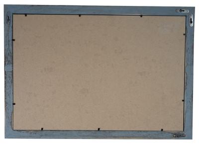 Bilderrahmen Set, Fotorahmen Holzrahmen, 3x 19x24cm 1x 26x36cm 1x 36x51cm Shabby Landhaus ~ grau – Bild 3