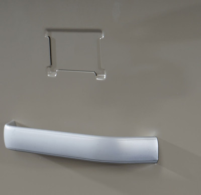 Hängeregisterschrank Boston T239, Aktenschrank Büroschrank Stahlschrank, 103x46x62cm ~ grau – Bild 5