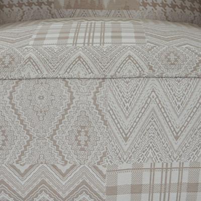 Sessel Malmö T371, Loungesessel Polstersessel, Retro 50er Jahre Design, Stoff/Textil ~ beige/braun – Bild 4