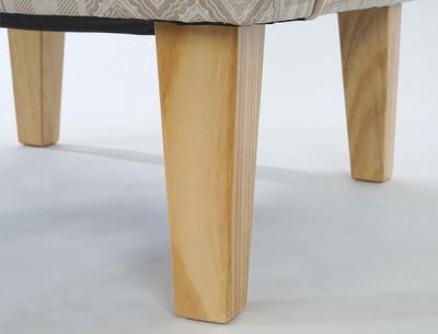 Sessel Malmö T371, Loungesessel Polstersessel, Retro 50er Jahre Design, Stoff/Textil ~ beige/braun – Bild 7