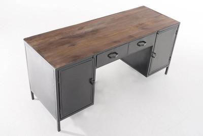Schreibtisch Jalna braun – Bild 4