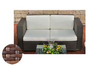 2er Sofa Provence / Sunset Cremeweiss 001