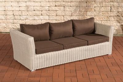 3er Sofa Mandal Terrabraun