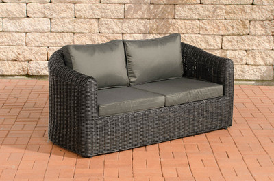 2er-Sofa Bergen Anthrazit 5mm