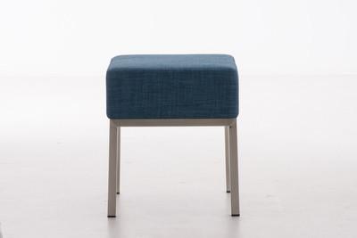 Sitzhocker Lamega STOFF blau – Bild 2