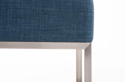 Sitzhocker Lamega STOFF blau – Bild 6