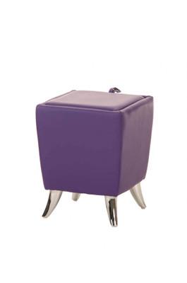 Sitzhocker Roxy lila – Bild 1