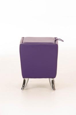 Sitzhocker Roxy lila – Bild 2