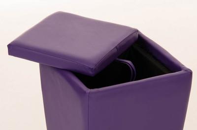 Sitzhocker Roxy lila – Bild 4