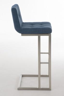 Barhocker Carlton E78 Stoff blau – Bild 2