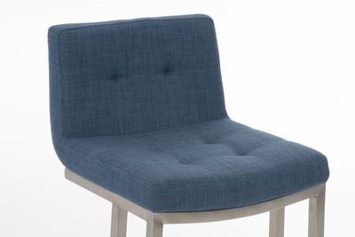 Barhocker Carlton E78 Stoff blau – Bild 3