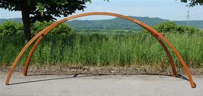 "Hängemattengestell HMG 350 Holz ""Brücke"" – Bild 2"