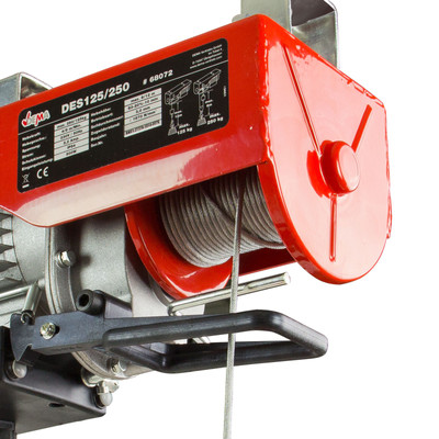 Seilzug Hebewerkzeug Kran Elektroseilzug  – Bild 4