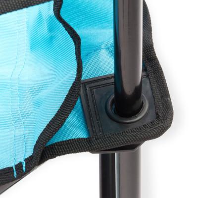 Faltstuhl mit hoher Lehne blau  – Bild 2