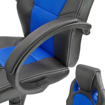 Bürostuhl Clermont schwarz - blau  – Bild 5