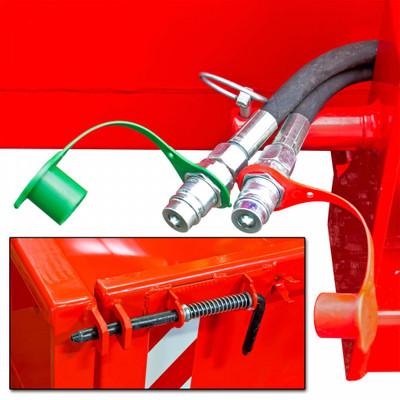 Heckcontainer hydraulisch 125x180x40 cm  – Bild 3