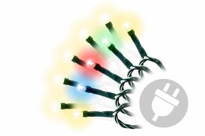 40er LED Lichterkette mit Farbwechsel bunt / warm weiss 9 Funktionen dimmbar – Bild 1