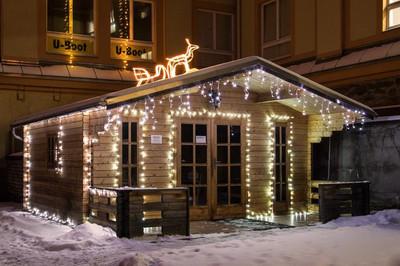 400 LED Lichterkette mit Trafo + Timer warm-weiss Innen Aussen grünes Kabel 50 m – Bild 7
