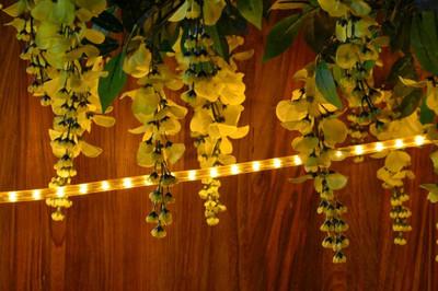 10 m Lichterschlauch Lichtschlauch Aussen gelb Lichterkette Weihnachtsbeleuchtung – Bild 4