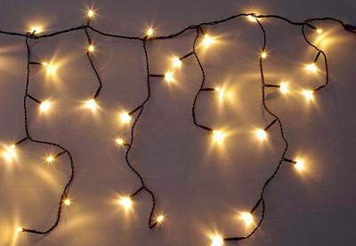 diLED 180er LED Lichterregen warmweiss erweiterbar Lichterkette System LED XMAS diLED – Bild 2