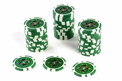 50 Poker Chips Wert 25 11 g für Pokerkoffer – Bild 1