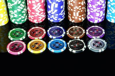 50 Poker Chips Wert 500 11 g für Pokerkoffer – Bild 3