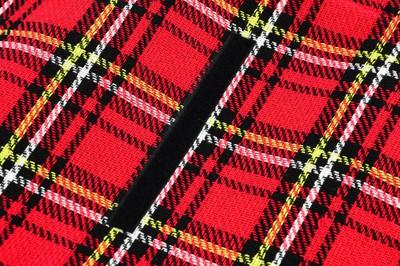 Picknickdecke rot kariert 150 x 130cm faltbar Strandlaken wasserabweisend – Bild 4