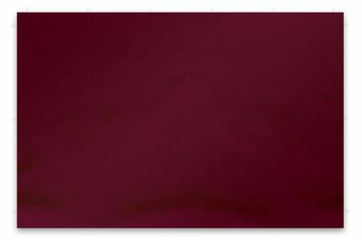 2 Seitenteile für PROFI Falt Pavillon ohne Fenster burgund Polyester 180 g/m² PA-coated Seitenwand – Bild 1