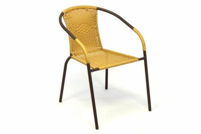3 er SET Bistroset Bistrostuhl Sitzgruppe Gartengarnitur Poly Rattan beige Balkonset Gartenmöbel – Bild 6