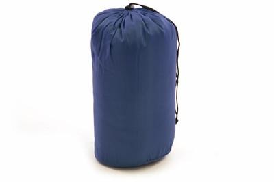 Schlafsack Taura 190 cm 170T Polyester dunkelblau 150g/m² Decke 15-25°C 900g – Bild 3