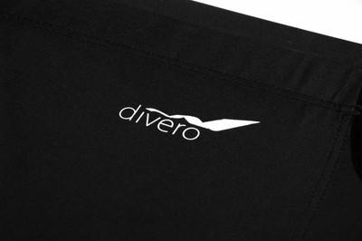 Divero Aluminium Feldbett XL schwarz 210 x 74 x 42 cm Liege Gästebett – Bild 2