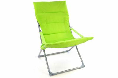 Camping Stuhl Apfelgrün klappbar Stahlrohr Gartenstuhl bis 110 kg Sessel – Bild 1