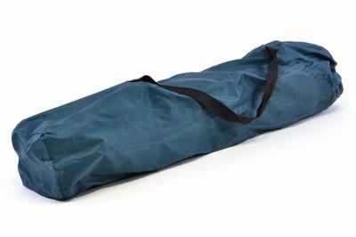 Divero Camping Stuhl Faltstuhl Angelstuhl dunkelblau Kopfkissen Getränke robust – Bild 8
