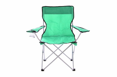 Campingstuhl Faltstuhl mint-grün Armlehne Getränkehalter Angelstuhl 600D Polyester – Bild 1