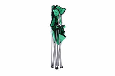 Campingstuhl Faltstuhl mint-grün Armlehne Getränkehalter Angelstuhl 600D Polyester – Bild 7