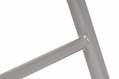2er Set Klappstuhl Aluminium Gartenstuhl Alu Campingstuhl orange hochlehnig – Bild 5