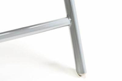 2er Set Klappstuhl Aluminium Gartenstuhl Alu Campingstuhl verstellbar schwarz – Bild 6