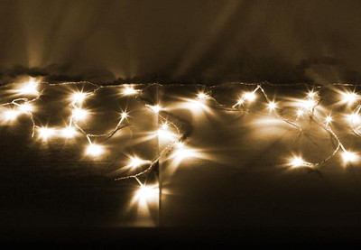 600er LED Lichterkette Eisregen Eiszapfen warm weiss Aussen Weihnachtsbeleuchtung – Bild 2