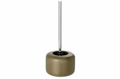 Wenko WC-Garnitur Havana 14,5 x 37 x 14,5 cm Klobürste Polyresin braun