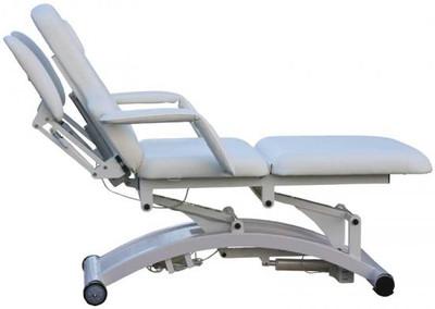SILVERFOX Massage,- und Kosmetikliege elektrisch weiss – Bild 3
