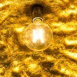 s.LUCE Blister Pendelleuchte 55 cm / Schwarz, Goldfarben – Bild 8