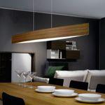 Fore LED Esstischleuchte / 4 x 6 W / 97 cm / Nuss – Bild 1