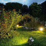 LED Outdoor Beam / silbergrau / 10W / warmweiss / 100° / IP65 – Bild 2