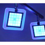 Vidal LED Deckenleuchte drehbar + Fb. / 4 x 4,80W / 3000K, RGB – Bild 8