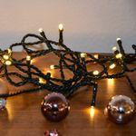 LED Lichterkette 7,9 m mit 80 LEDs in warmweiss + Box – Bild 4