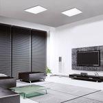 Q-Flat 45 x 45 cm LED Deckenleuchte RGBW + Fb. / Weiss – Bild 7